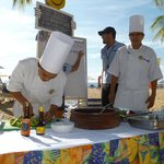 chef's on the beach