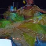 dancer at the fiesta