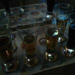 Beer Sampler and beer map