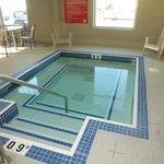 Hot tub temperature ~100 F