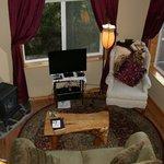 Living room of Mosse Cabin