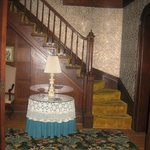 entry hall stairs to rooms