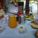 Café da manhãã..