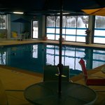 Pool area - very nice. Large pool, 3 to 5 foot depth