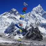 A beutiful picture Mt Everest from top of Kalapathar