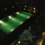 Pool night time