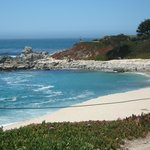 East side of the beach in Carmel