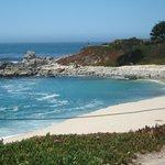 East side of the beach in Carmel
