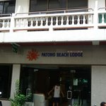 Enterance to hotel