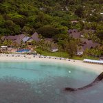 Hotel / Resort aus dem Helikopter