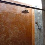 douche à ciel ouvert