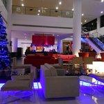 Nice lobby and bar