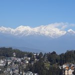 kanchenjunga view from hotel