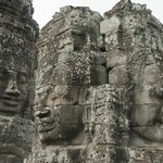 Bayon temple is mystical, different from all other Khmer temples