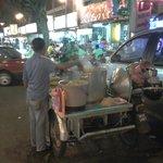 Street food in Bukit Bintang
