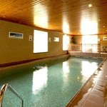 The indoor 10m swimming pool