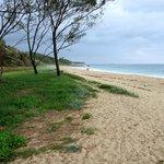 Hills Beach, a short 10 min walk away, well worth it.