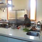 Mbongiseni at work