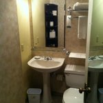 Bathroom-small but efficiant