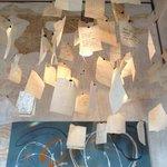 lampadario con dediche