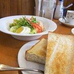 Salad with Toast