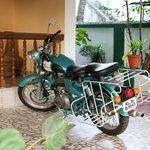 Kumar´s motorcycle