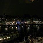 Utsikt från rummet, Strand, kväll
