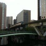 グレイスリー田町と東京モノレール