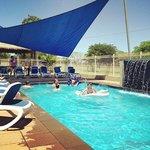 FABULOUS pool w/ wather feature. My kids loved it.
