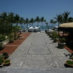 From Reception facing East & the South China Sea