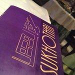 This is the menu of Sukhothai