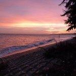 Вид на Южно-Китайское море на закате