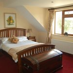 Bed Room at Trooperstown Wood Lodge B&B Glendalough