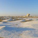 White Desert's spectacular landscape