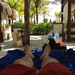 plage privé pour le royal suites