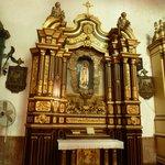 Altar lateral. Virgen de Fátima. Iglesia de San José, Panamá