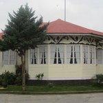 Front of Wisma Sibayak