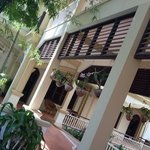 the lush veranda