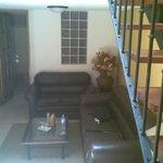 vista del primer piso de la habitación simple