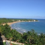 View of Playa Azul, looking west