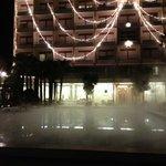 piscina esterna e hotel