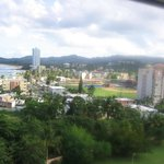 The town of Luquillo from the hallway of Bldg 3