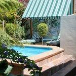 Our enviting splash pool