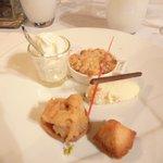 Dessert: la pomme et la poire