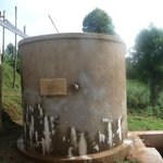 The Lodge's own water tank