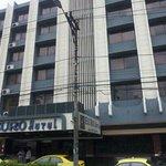 vista del hotel desde la avenida España