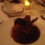 slow roasted duck