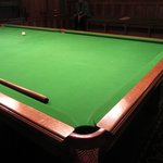 Lord Armstrongs Snooker Table