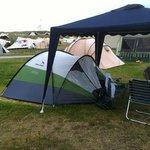 tenten in de duinen