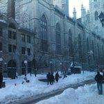 Rue St. Sulpice, record snowfall, Dec. 2012